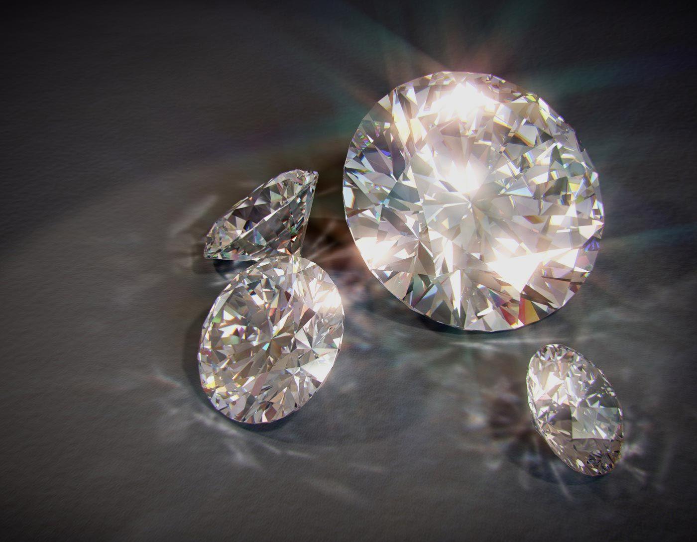Diamanten - Light Dispersion Shader, mental ray