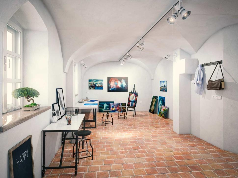 Visualisierung Nonntal, Salzburg, Atelier