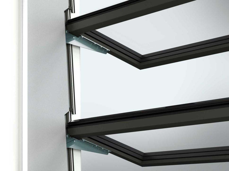 Vallona Lamellenfenster Detail innen