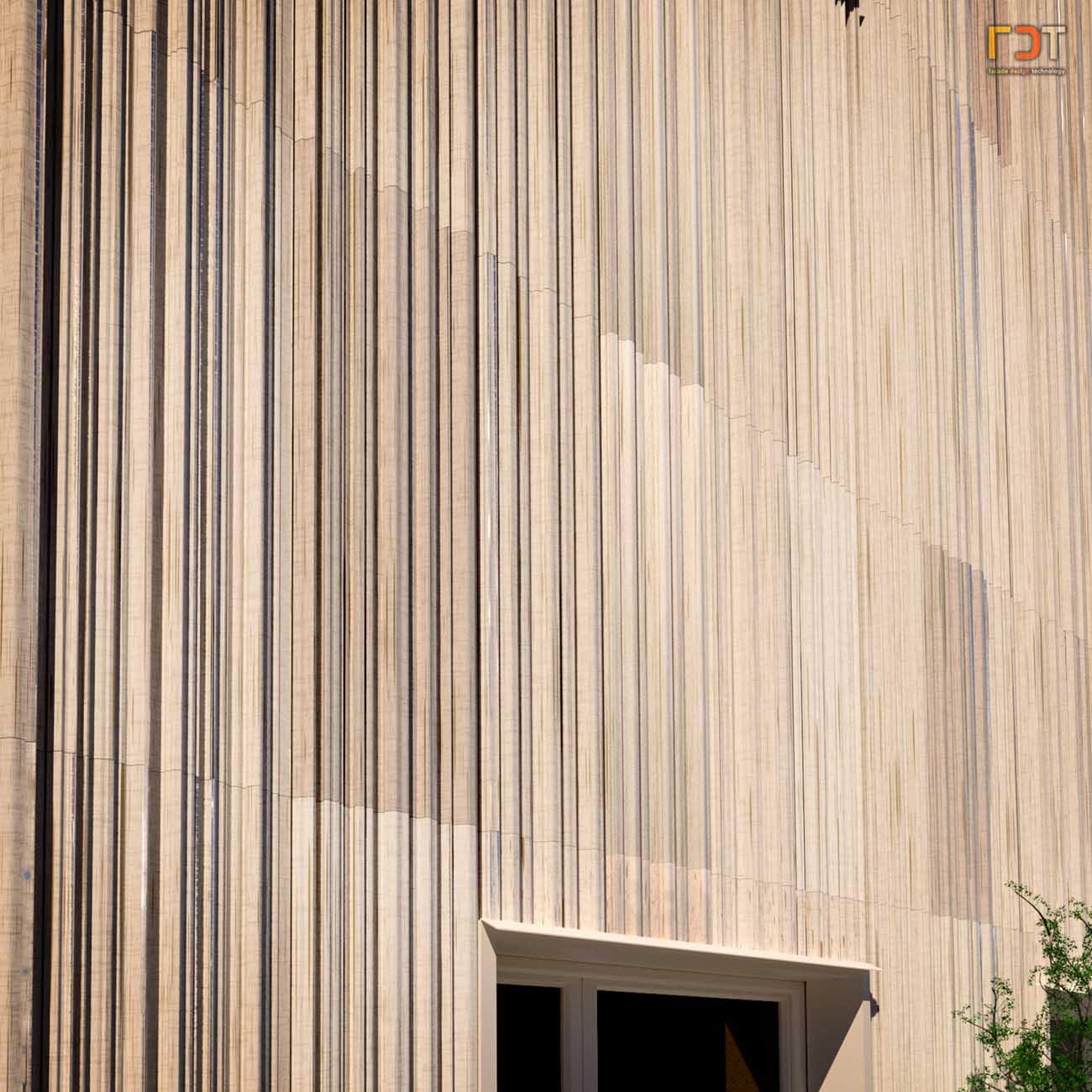 FDT Keramik Fassade
