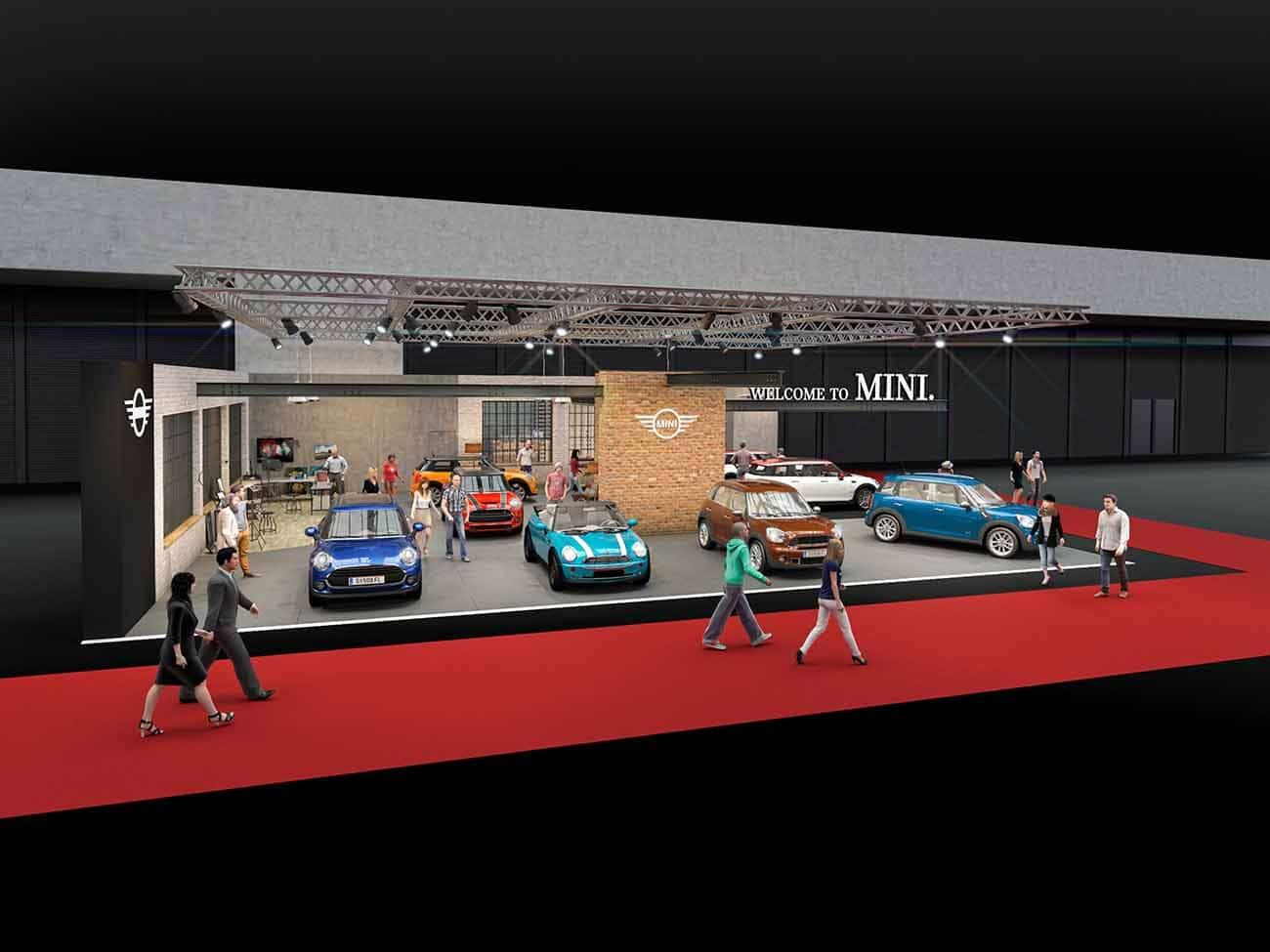 MINI Stand auf der Vienna Autoshow 2017